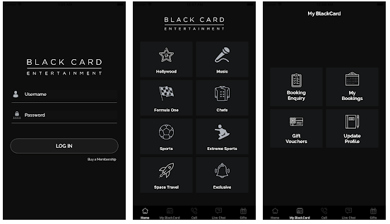 Black Card Entertainment - Portfolio - Cipherhex technology